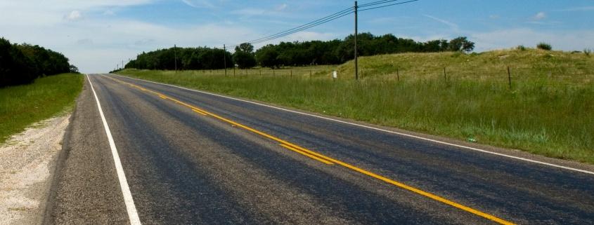 Fine art conceptual photography of roadside America, color