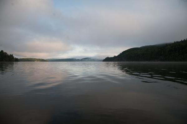 Lake fine art photography, color