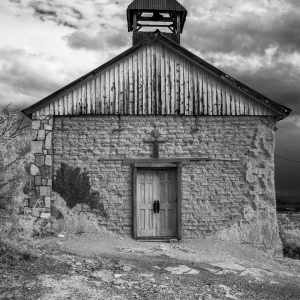Black and white infrared fine art photograph