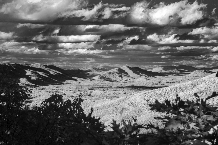 Binhammerphotographs Blue Ridge Mountains Infrared