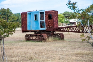BinhammerPhotographs, Roadside America, machinery