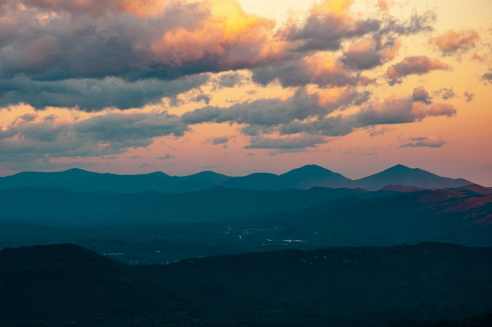 Binhammerphotographs Blue Ridge Sunset
