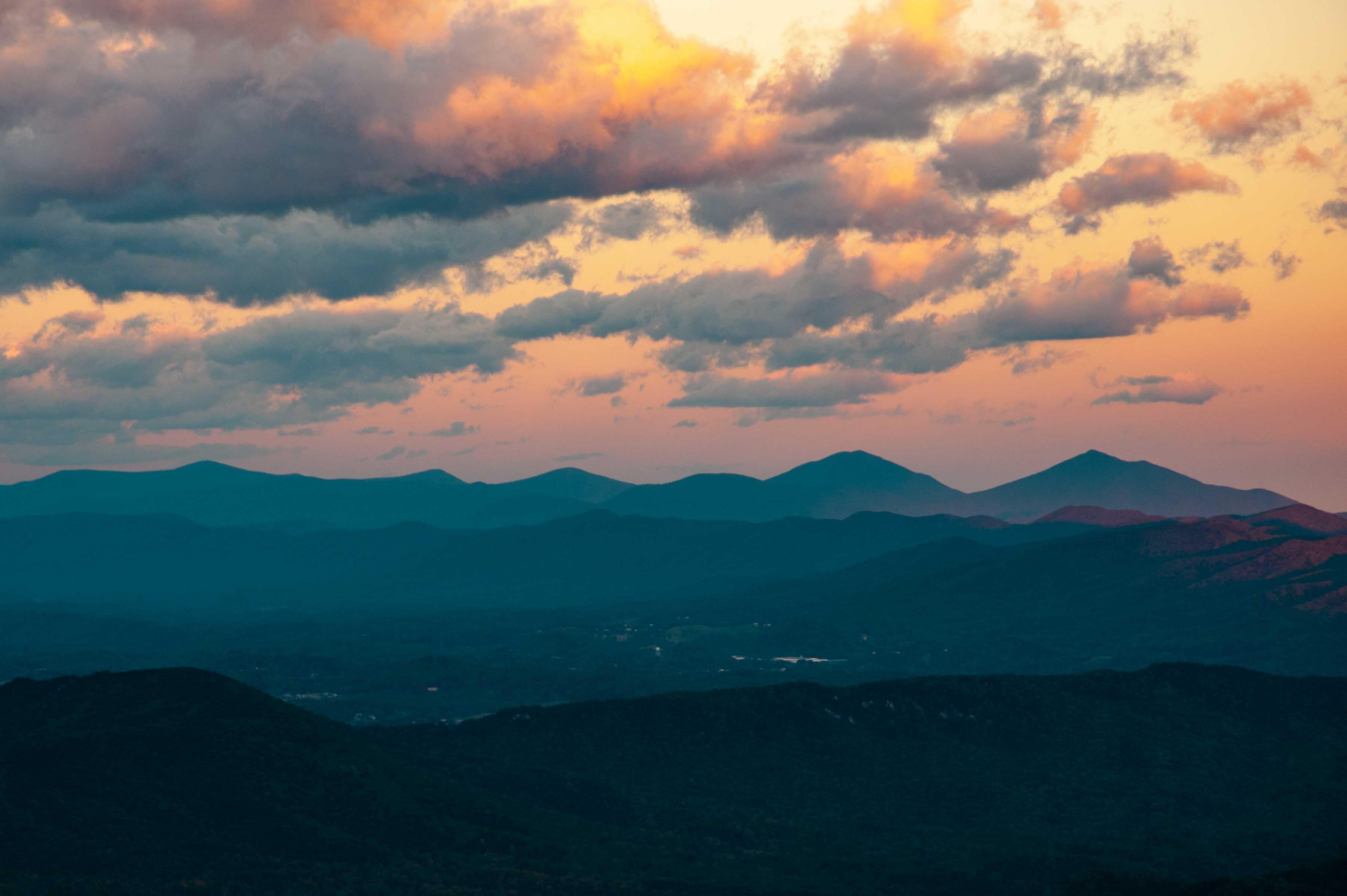 Binhammerphotographs Blue Ridge Sunset
