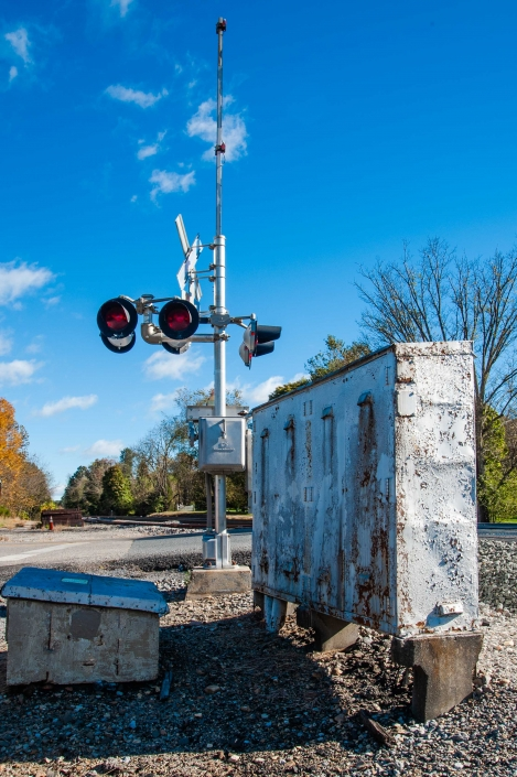 Binhammerphotographs railroad signal