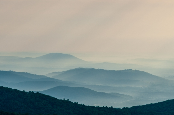 ine art photography of mountain landscapes, color