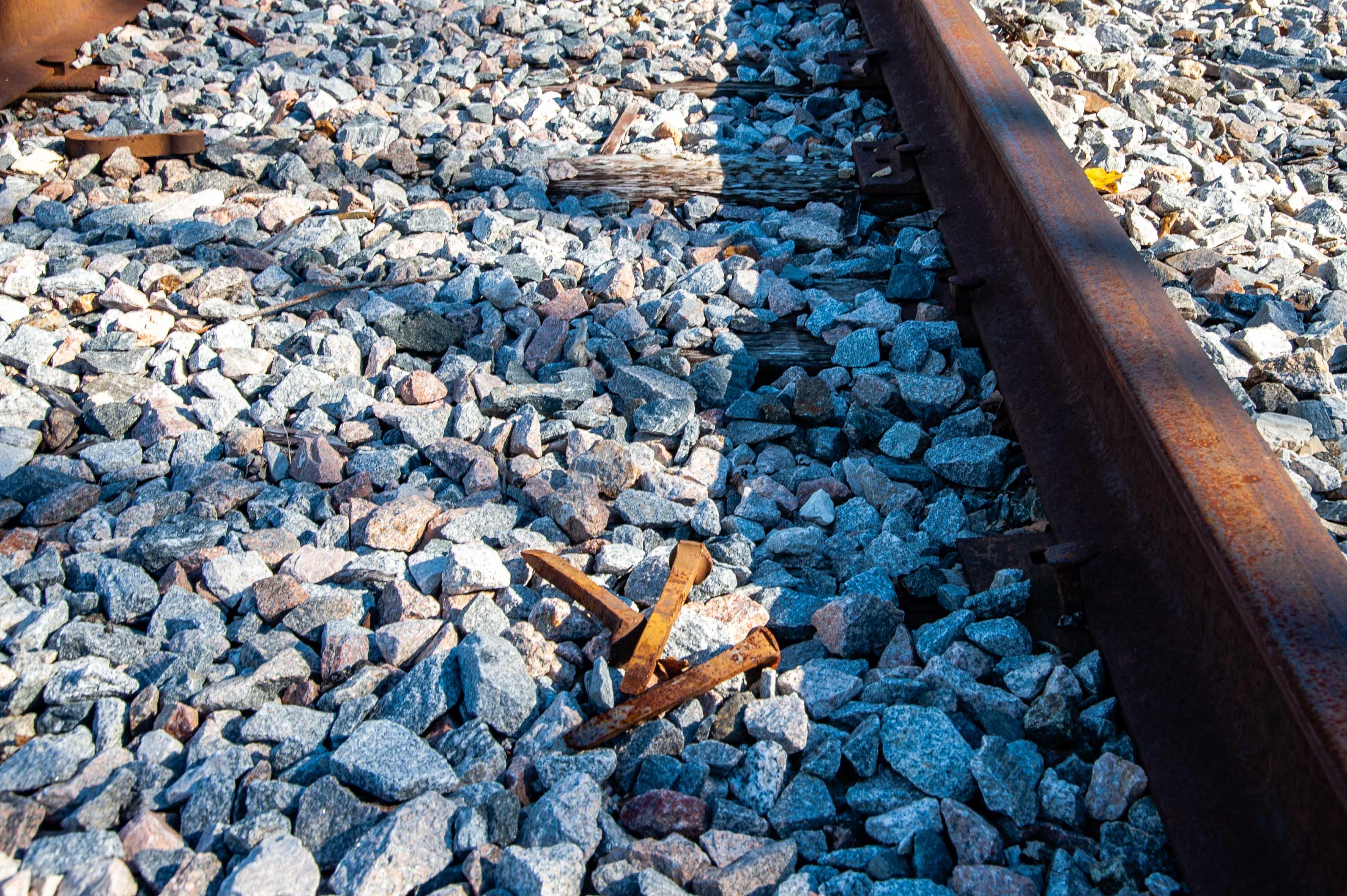 Binhammerphotographs railroad tracks